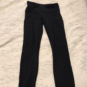 Full length Lululemon black leggings
